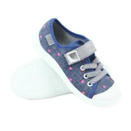 Befado obuwie dziecięce 251X105 niebieskie 3