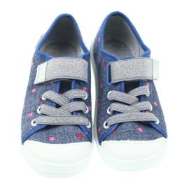 Befado obuwie dziecięce 251X105 niebieskie 4