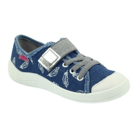 Befado obuwie dziecięce 251Y111 niebieskie 2