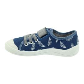 Befado obuwie dziecięce 251Y111 niebieskie 3