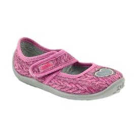 Befado  obuwie dziecięce 945X325 różowe 2
