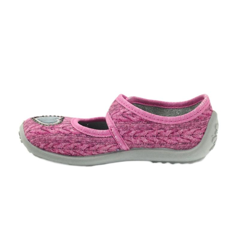 Różowe Befado  obuwie dziecięce 945X325 zdjęcie 3
