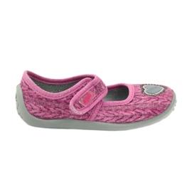 Befado  obuwie dziecięce 945X325 różowe 1