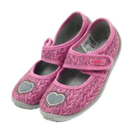 Befado  obuwie dziecięce 945X325 różowe 5