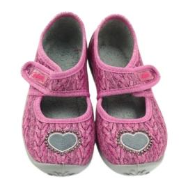 Befado  obuwie dziecięce 945X325 różowe 4