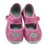 Różowe Befado  obuwie dziecięce 945X325 zdjęcie 4
