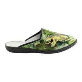 Befado obuwie młodzieżowe 201Q089 zielone 2