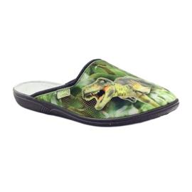 Befado obuwie młodzieżowe 201Q089 zielone 3