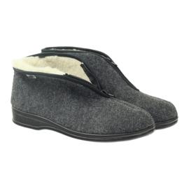 Befado obuwie męskie pu 100M047 szare 5