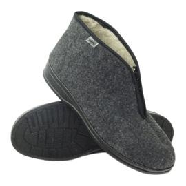 Befado obuwie męskie pu 100M047 szare 4