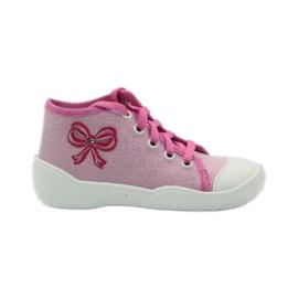 Befado różowe obuwie dziecięce 218P047 1