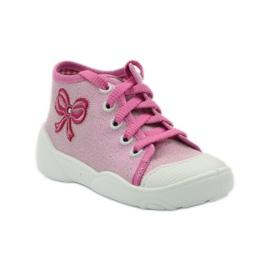 Befado różowe obuwie dziecięce 218P047 2