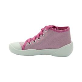 Befado różowe obuwie dziecięce 218P047 3
