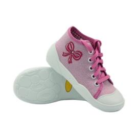 Befado różowe obuwie dziecięce 218P047 4