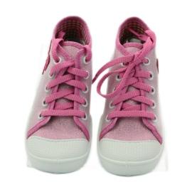 Befado różowe obuwie dziecięce 218P047 5
