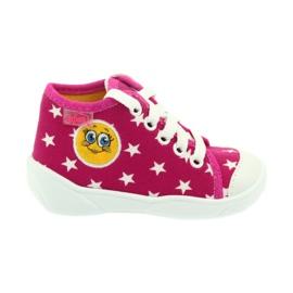 Befado kolorowe obuwie dziecięce 218P055 różowe 1
