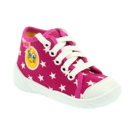 Befado kolorowe obuwie dziecięce 218P055 różowe 2