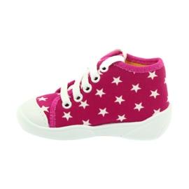 Befado kolorowe obuwie dziecięce 218P055 różowe 3