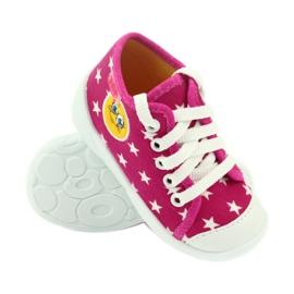 Befado kolorowe obuwie dziecięce 218P055 różowe 4