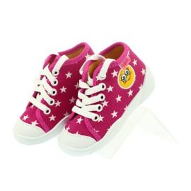 Befado kolorowe obuwie dziecięce 218P055 różowe 5