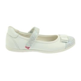Befado obuwie dziecięce 170Y019 białe 1
