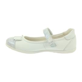 Befado obuwie dziecięce 170Y019 białe 3