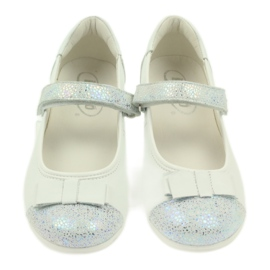 Befado obuwie dziecięce 170Y019 białe 4