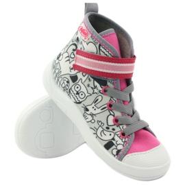 Befado obuwie dziecięce    wzór do kolorowania 268X064 wielokolorowe 4