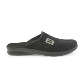 Befado obuwie męskie pu 548M015 czarne 1