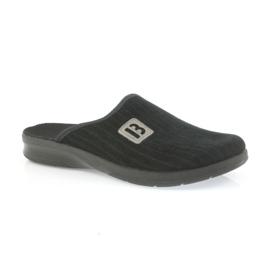 Befado obuwie męskie pu 548M015 czarne 2
