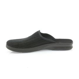 Befado obuwie męskie pu 548M015 czarne 3