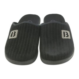 Befado obuwie męskie pu 548M015 czarne 4