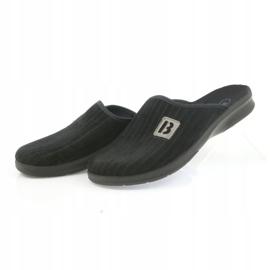 Befado obuwie męskie pu 548M015 czarne 5