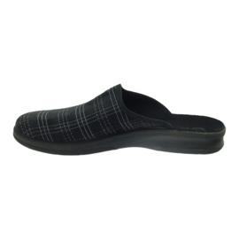 Befado obuwie męskie pu 548M011 czarne 3