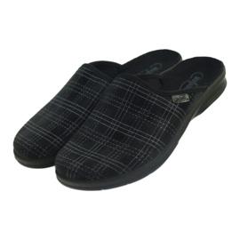 Befado obuwie męskie pu 548M011 czarne 4