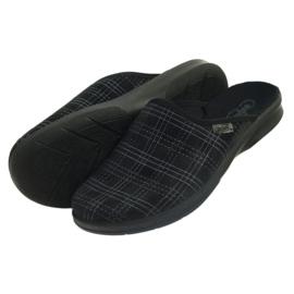 Befado obuwie męskie pu 548M011 czarne 5