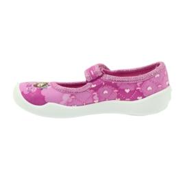 Befado obuwie dziecięce 114X306 różowe 3