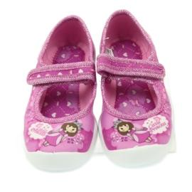 Befado obuwie dziecięce 114X306 różowe 5