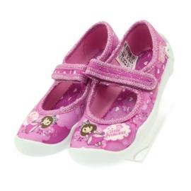 Befado obuwie dziecięce 114X306 różowe 6