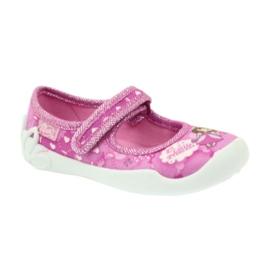 Befado obuwie dziecięce 114X306 różowe 2