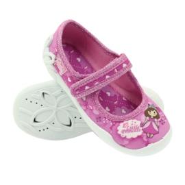 Befado obuwie dziecięce 114X306 różowe 4
