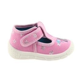Befado obuwie dziecięce  531P009 różowe 1