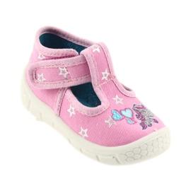 Befado obuwie dziecięce  531P009 różowe 2