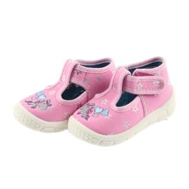 Befado obuwie dziecięce  531P009 różowe 3