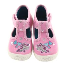 Befado obuwie dziecięce  531P009 różowe 5