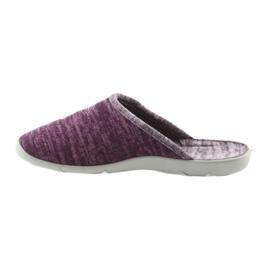 Befado kolorowe obuwie damskie pu 235D152 fioletowe 3