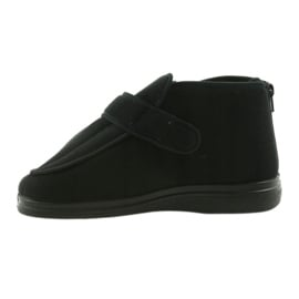Befado obuwie męskie  pu orto  987M002 czarne 3