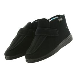 Befado obuwie męskie  pu orto  987M002 czarne 4