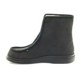 Befado obuwie  męskie pu 996M008 czarne 3