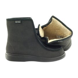 Befado obuwie  męskie pu 996M008 czarne 4